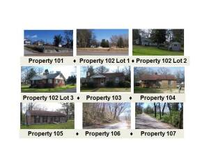 Multi-Property Online Only Auction