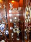 Contents on Right 4 shelves of China Cabinet
