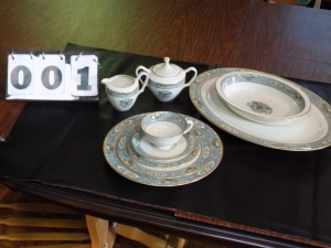 Lenox China (Autumn) * 8-5 place settings, 1 Platter, 1 Bowl, Cream and Sugar