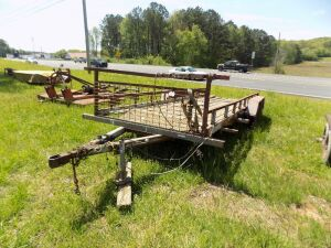 Utility Trailer - 18 x 6 feet (Bill of Sale Only)