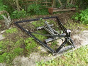 Drag Harrow Frame
