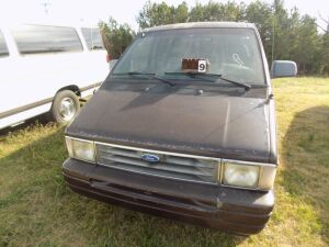 1995 Ford Aerostar Van -1FMDA31XX52C4164 - Starts with a boost - Brown