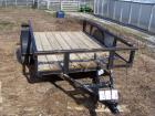 Single axle Trailer - Approximately 8'