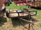 Single Axle Trailer wood bed 6x12- No Title; Bill of Sale Only
