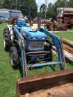 Ford 1720 Tractor 4WD D Rops Bushhog 2240 QT Loader and Bucket Model: AL413A SN:UL32446