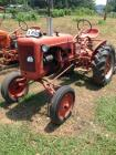 B Allis Chalmers Tractor with power lift-mower sells with tractor-Tractor #: B77646