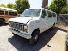 1990 Ford EconoVan # 19102 Placed into Service 1/29/1990 DRIVABLE Odometer 93922