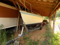 Sovereign 7.0 Sailboat and Trailer XBG23076M811 Shoreline Trailer Yarbrough 2Axle